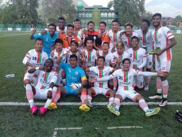 Neroca players celebrate their win against Lonestar